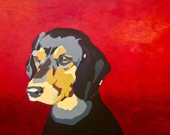 LARGE Pet Portrait 40x30