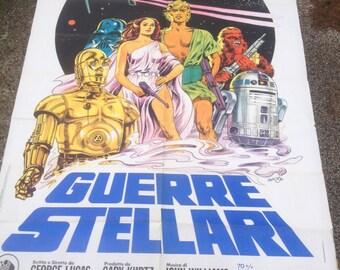 the original STAR WARS movie poster