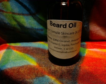 Beard Oil - Patchouli