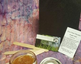 Moon and Sun Naturals- Sugar wax 4 oz