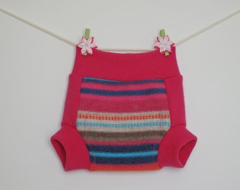 Wool baby soakers, diaper covers, Size M
