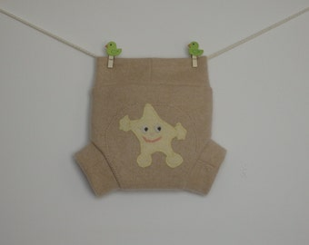 Cashmere baby shorties / diaper covers / soakers,  Size S