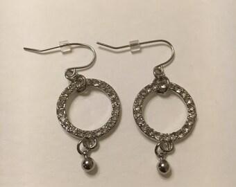 Fabulous Rhinestone Dangle Earring