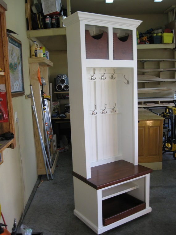 29 Wide Entryway Furniture Mudroom Cabinet Hall Tree