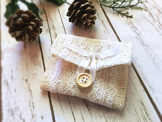 Wedding Favor Bags- Wedding Favors- Burlap Favor Bags- Rustic Wedding ...