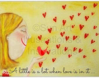 A little is a lot when love is in it