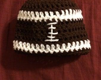 Baby football beanie