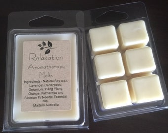 Aromatherapy Essential Oil Soy Melts - Relaxation