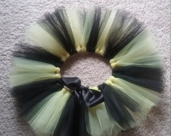 Black and yellow tutu