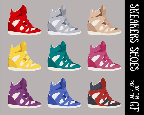 converse shoes clipart. this is a digital file converse shoes clipart