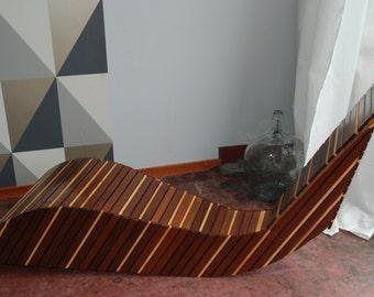 rocking lounge chair