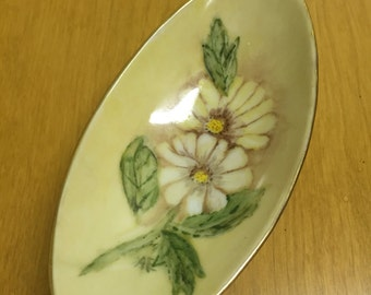 Pretty hand painted pircelain dish