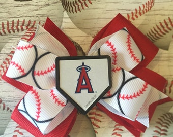 Los Angeles Angels bows! (Free Shipping in US)