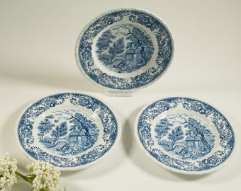 RESERVED - Royal Tudor Ware, Olde England, Staffordshire - small plate