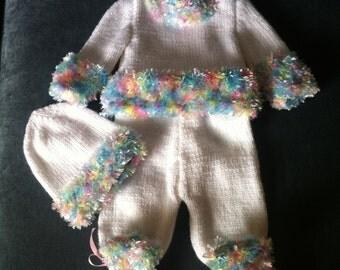 Beautiful Hand knitted set