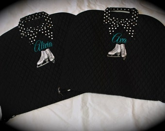Custom Embroidered Belle Voir Brand Quilted Garment Bags - 3 Styles