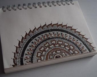 Semi Circle Mandala Print