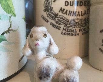 Vintage poodle ornament
