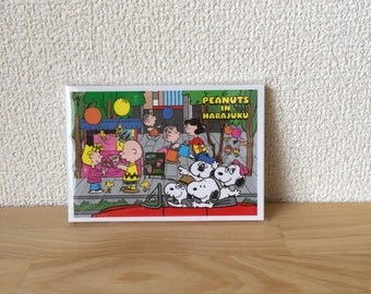 Snoopy Peanuts in Harajuku exclusive designed memo pads