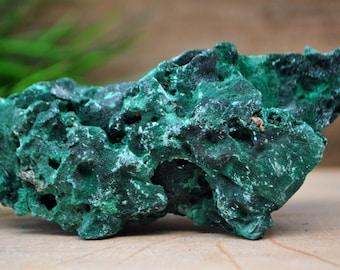 Fibrous Malachite Specimen- 1214.44