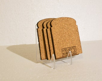 Bread slice Coaster