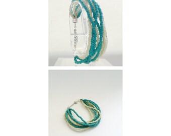 Toho beads bracelet