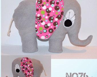 """Plush elephant """"Wife Elli"""" grey"""