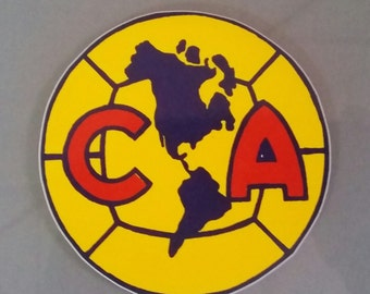 Mexico CLUB AMERICA Soccer Futbol Vinyl Decal Sticker NEW