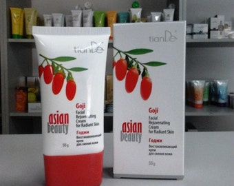 Goji berries Rejuvenating Cream for Radiant skin by TianDe, 50 G