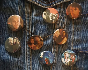 The Lost Boys Vampire Horror Comedy 1987 Buttons Pins Magnets 1.25 inch