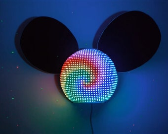 LED Mau5 Head Deadmau5 (Wall Mounted)