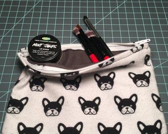 French Bulldog Make-up Bag