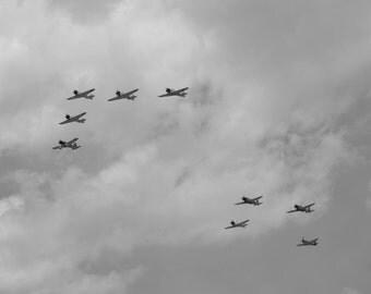 Enemies in the sky