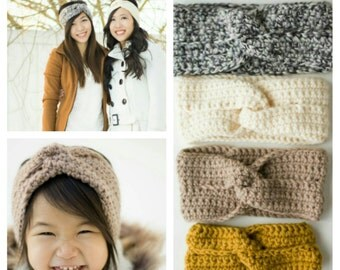 Crocheted Twist Headband