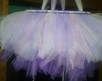 tulle chandelier /mobile