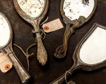 Silver mirror 1920s