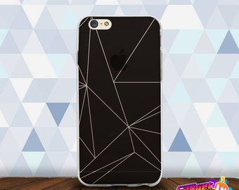 Geometric Triangle Pattern Soft Case for iPhone and Samsung including iPhone 7/7+, iPhone 6/6s, S7, S7 Edge and Note 5