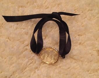 Ribbon Tie Bracelet