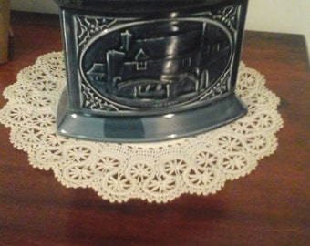 Holkham pottery norwich candle holder limited edition
