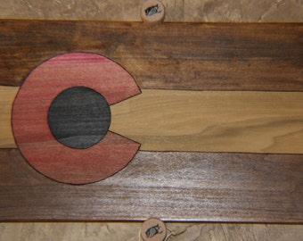 Colorado Custom wood Burnt sign