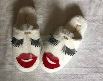 Beautiful Handmade Bridal Slipper Weding Slipper for Weding Favors