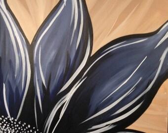 Blue Hope - Large Acrylic Painting
