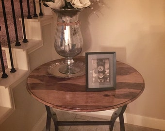 SOLD---Refinished Entryway Table