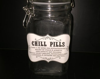 Chill Pill Jar - Large