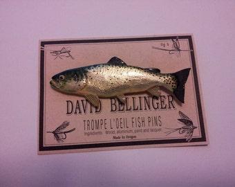 Trout Fish Pin 232