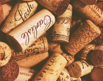50 Used Wine Corks - Natural Recycled Wine Corks for your Crafting Project