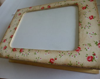 Shabby chic distressed photo frame box