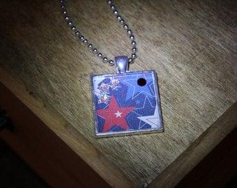 Red White & Blue Stars N12