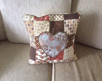 Heart design cushion
