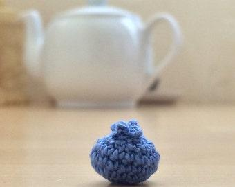 Crochet food blueberry